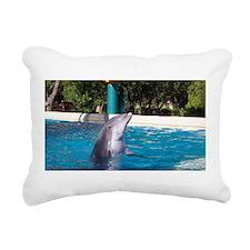 Cute Flipper Rectangular Canvas Pillow
