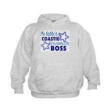 My daddy is a Coastie Hoodie