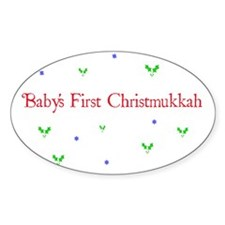 babychirstmukkah.png Decal