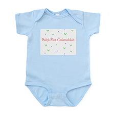 babychirstmukkah.png Body Suit