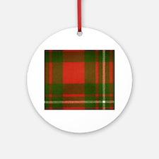 MacGregor Tartan Ornament (Round)