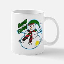 Dang Fido Snowman Mug