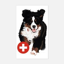 Liane Weyers Bernese Mountain Dog Artist Decal