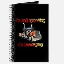 I'm Not Speeding Journal
