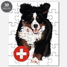 Liane Weyers Bernese Mountain Dog Artist Puzzle