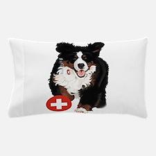 Liane Weyers Bernese Mountain Dog Artist Pillow Ca