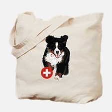 Liane Weyers Bernese Mountain Dog Artist Tote Bag