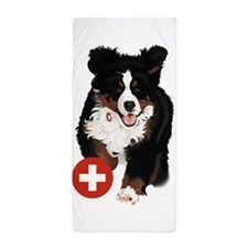 Liane Weyers Bernese Mountain Dog Artist Beach Tow