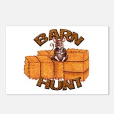 Barn Hunt Postcards (Package of 8)