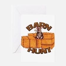 Barn Hunt Greeting Cards