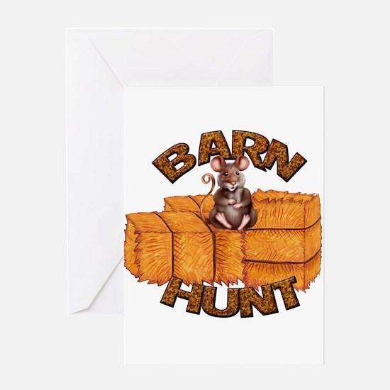 Barn Hunt Greeting Cards