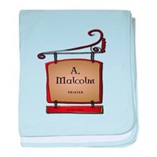 AMalcolmPrinter.png baby blanket