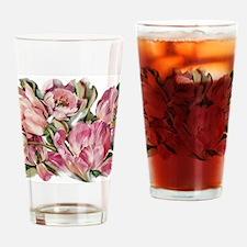 Tulip1 Design Drinking Glass
