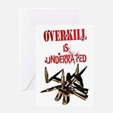 ATEAM OVERKILL IS UNDERRATED Greeting Card
