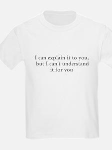 Understand Gray T-Shirt