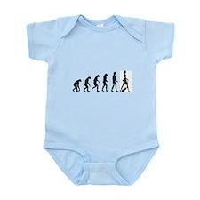 Evolution no text Infant Bodysuit