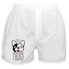 Viva La French Bulldog Boxer Shorts