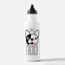 Viva La French Bulldog Water Bottle