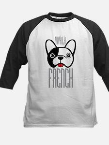 Viva La French Bulldog Baseball Jersey