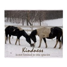 Kindness Throw Blanket