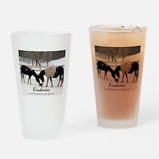 Kindness Drinking Glass