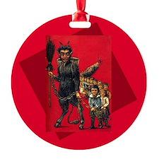 Krampus in Crimson Ornament