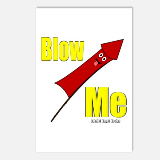 Blow Me Postcards (Package of 8)