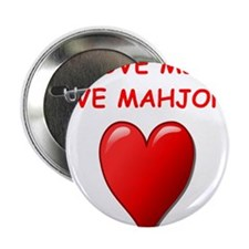 """Funny Mahjongg 2.25"""" Button (100 pack)"""