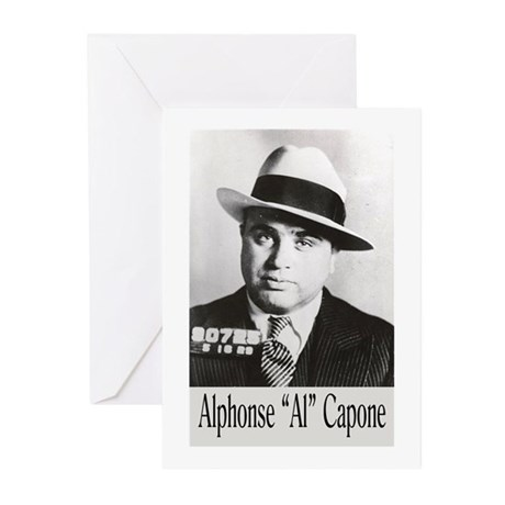 Al Capone Greeting Cards (Pk of 10)