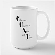 CUNT Ceramic Mugs
