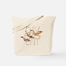 Divergent Fashion Copper Tote Bag