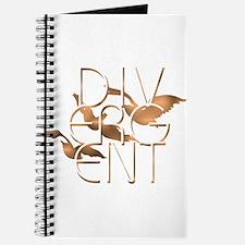 Divergent Fashion Copper Journal