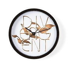 Divergent Fashion Copper Wall Clock
