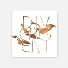 Divergent Fashion Copper Sticker