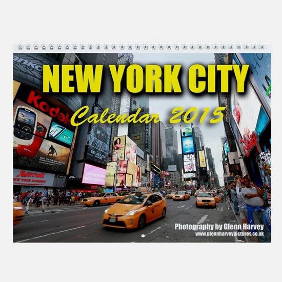 New York City 2015 Wall Calendar