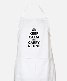 Keep Calm and Carry a Tune Apron