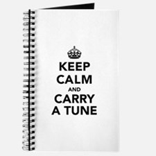 Keep Calm and Carry a Tune Journal