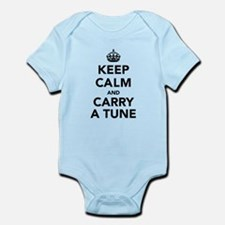 Keep Calm and Carry a Tune Infant Bodysuit