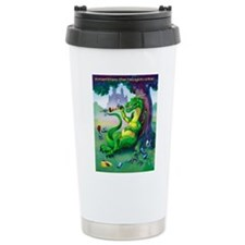 Cute Dragon castle Travel Mug