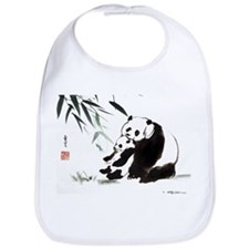 Mom and Child_Panda Bib