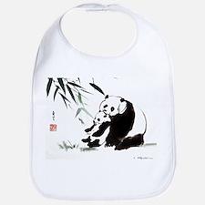 Mom and Child_Panda Bib