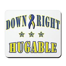 Down Right Hugable Mousepad