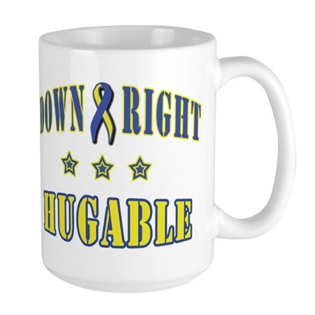 Down Right Hugable Large Mug
