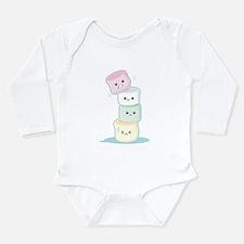 Cute Long Sleeve Infant Bodysuit