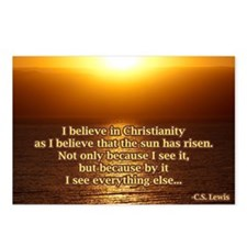 Christian Faith Quote Postcards (Package of 8)