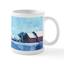 Winter Farmhouse Mugs