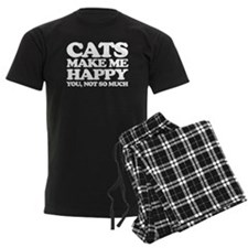 Cats Make Me Happy Pajamas