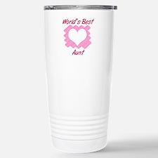 World's Best Aunt (Hear Travel Mug