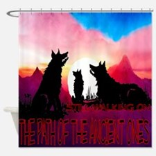 Path Of The Ancient Ones Shower Curtain