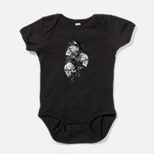 Fantasy Skulls.png Baby Bodysuit